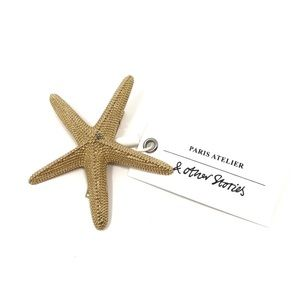 & Other Stories Starfish Hair Clip